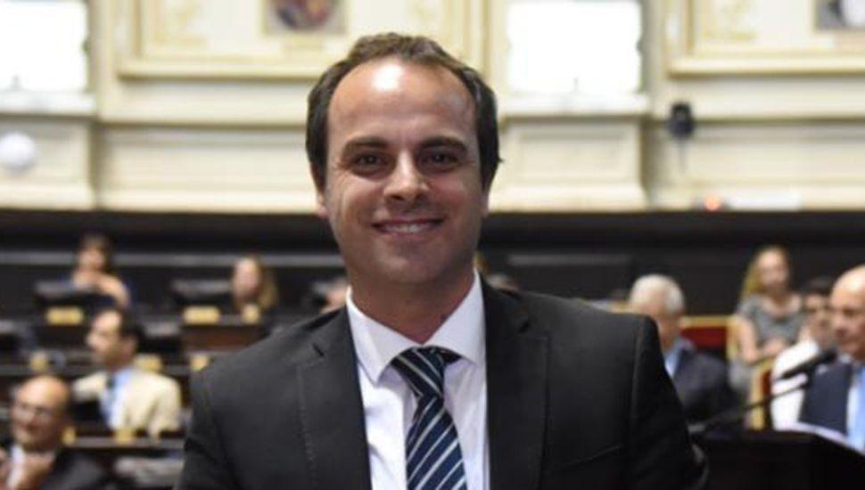 """Jorge Alfredo """"Fredy"""" Zavatarelli, intendente de General Pinto."""