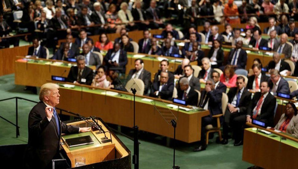 Donald Trump amenazó en la ONU con  destruir completamente a Corea del Norte