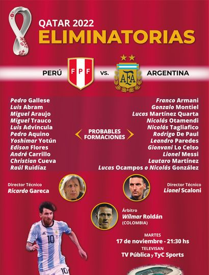 Argentina cierra el año con su visita a Perú