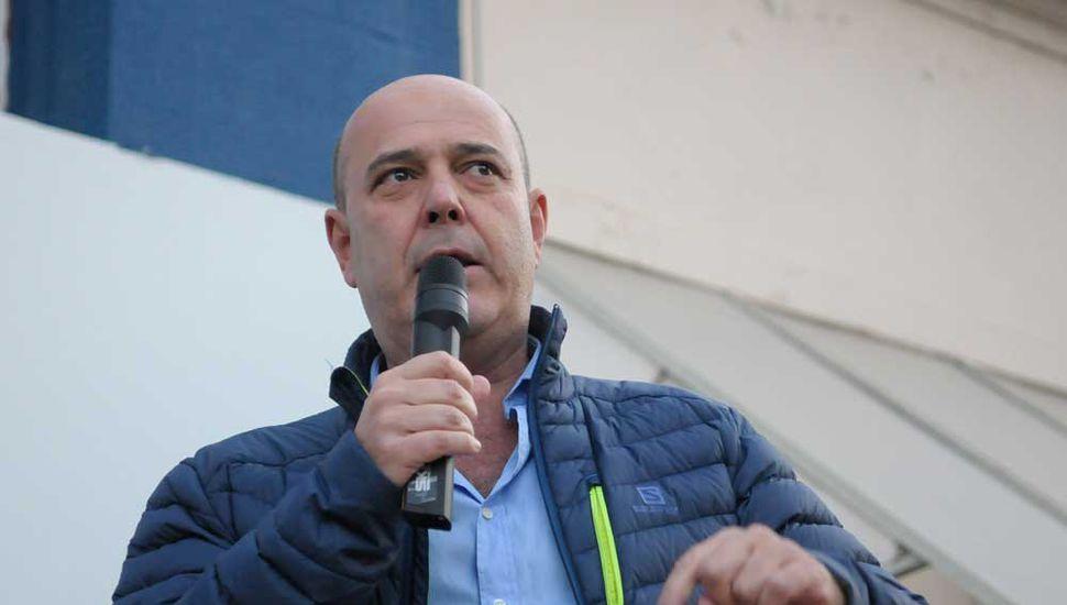 Gustavo Traverso, senador provincial por Unidad Ciudadana oriundo de Junín.