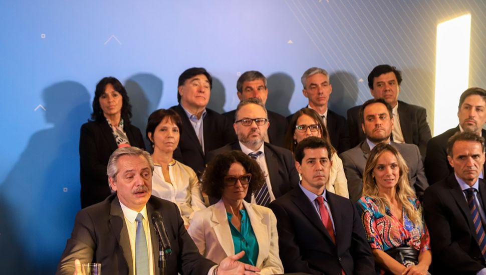 Mario Meoni fue confirmado por el presidente electo, Alberto Fernández, este viernes, en conferencia de prensa.