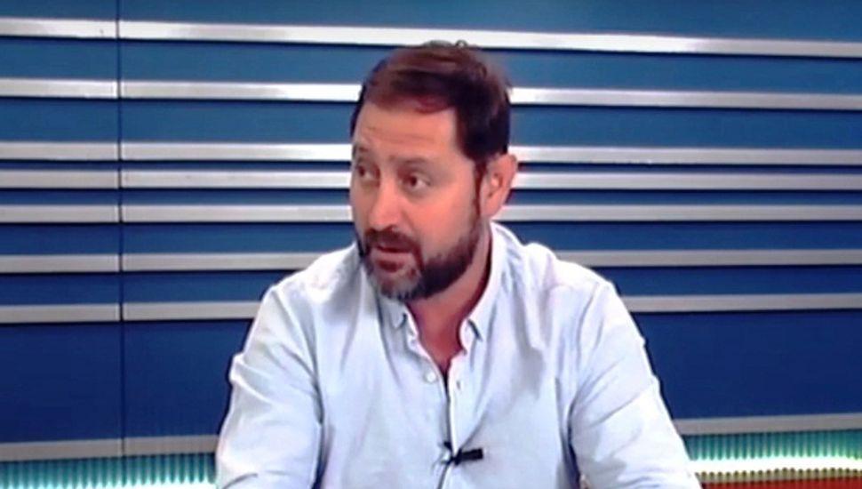 El intendente de Lincoln, Salvador Serenal, visitó los estudios de TeleJunín.