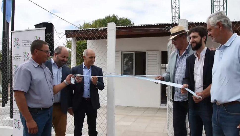 Daniel Salvador inauguró la obra de agua potable en Blaquier