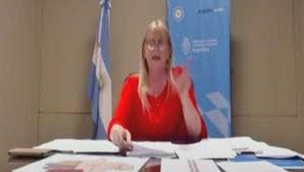 """Losardo: el Gobierno quiere que los ciudadanos cuenten con una """"justicia eficiente"""""""