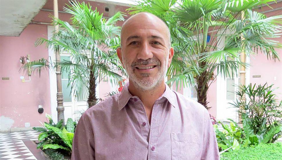 José Luis Cornago, secretario de la entidad deportiva.