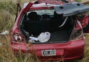 Un hombre de Viamonte perdió la vida tras despistar sobre Ruta 65