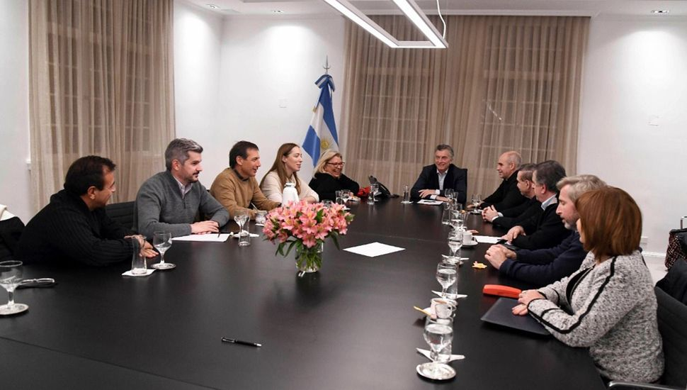 Macri acordó formar una Mesa de Acción Política que se reunirá semanalmente