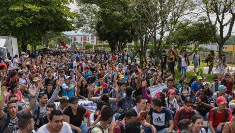 Alerta en Colombia por el caos del paro general