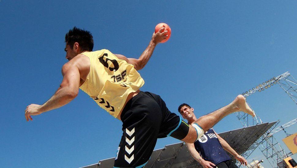 El beach handball sigue creciendo en nuestro país.