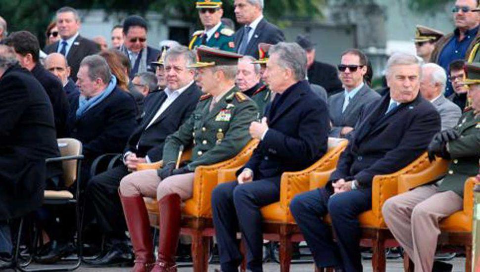 Stornelli, en  un acto con el Presidente