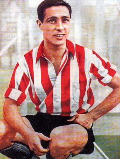 Alberto Zozaya autor del primer gol del profesionalismo en tierras criollas.