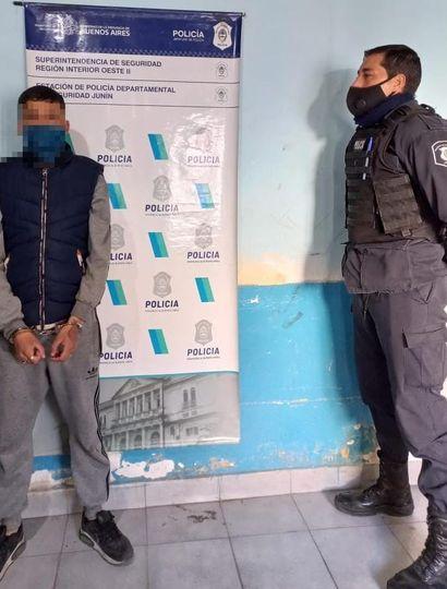Intentó cometer un robo en un comercio y fue arrestado