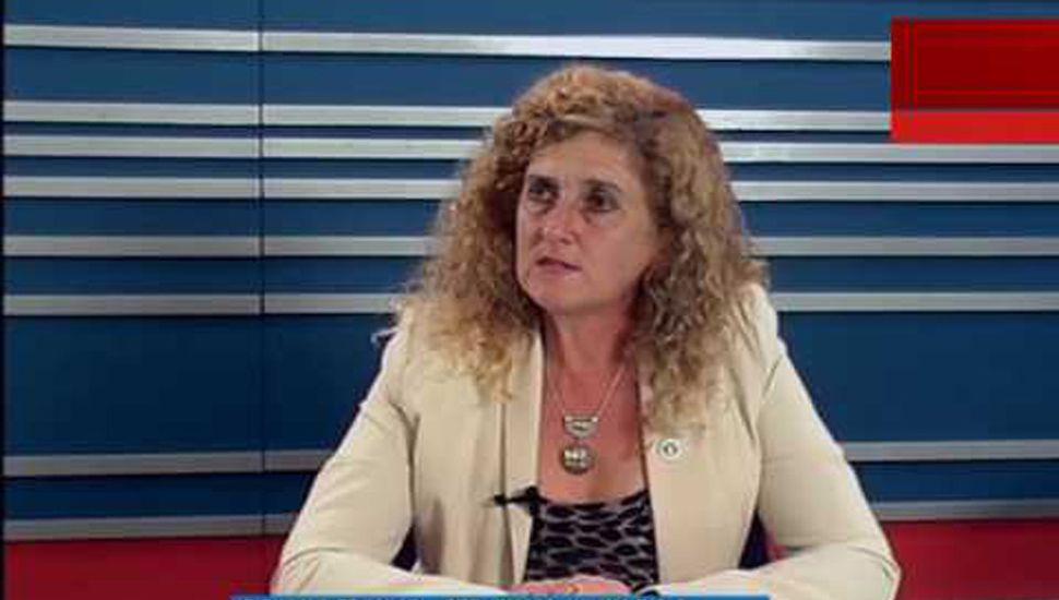 Rosana Franco (Federación Agraria Filial Junín).