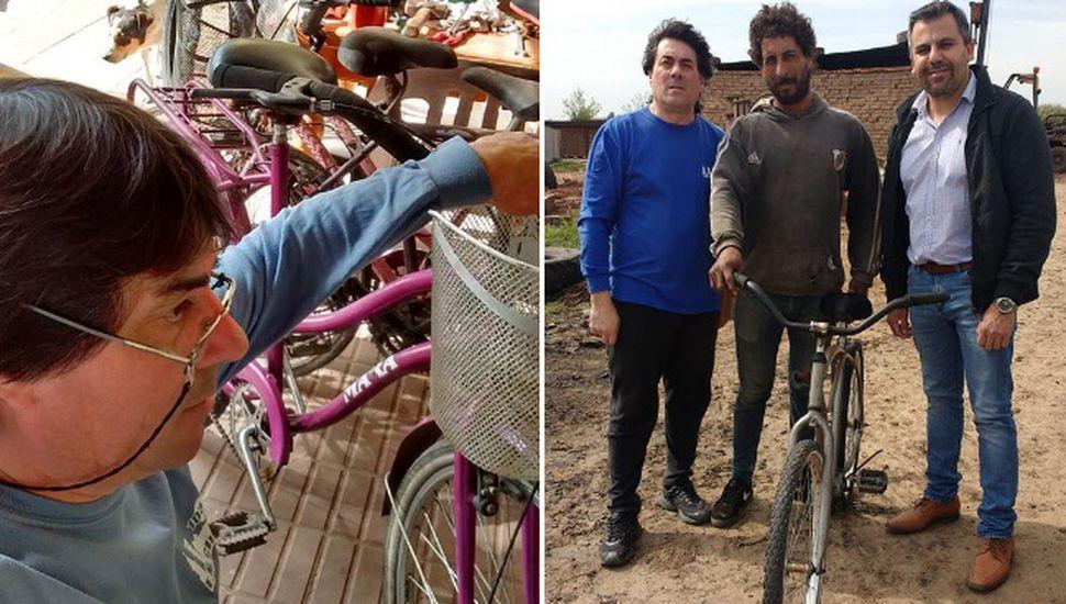 Realizarán un taller móvil y gratuito de reparación de bicicletas