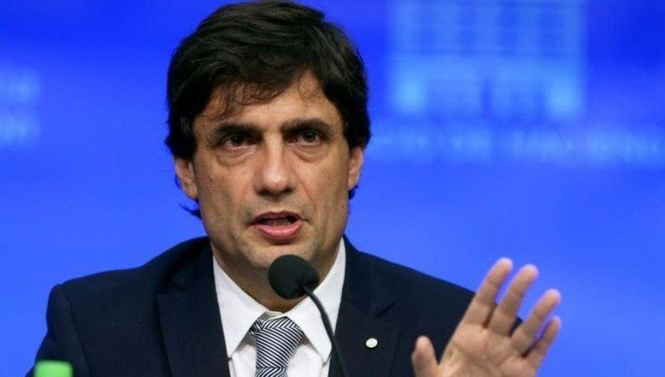 """Lacunza negó un """"co-gobierno"""" y cree que el dólar """"se mantendrá estable"""""""