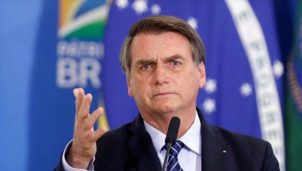 Jair Bolsonaro anunció que no asistirá a la asunción de Alberto Fernández