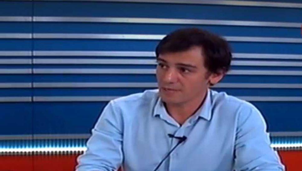 Ariel Díaz, secretario de Economía, estuvo anoche en TeleNoticias.