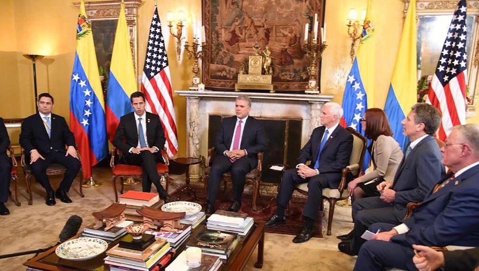 El Grupo de Lima se niega al uso de la fuerza para desplazar a Maduro