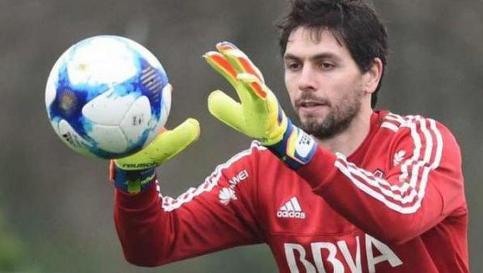 Germán Lux, arquero de River Plate.