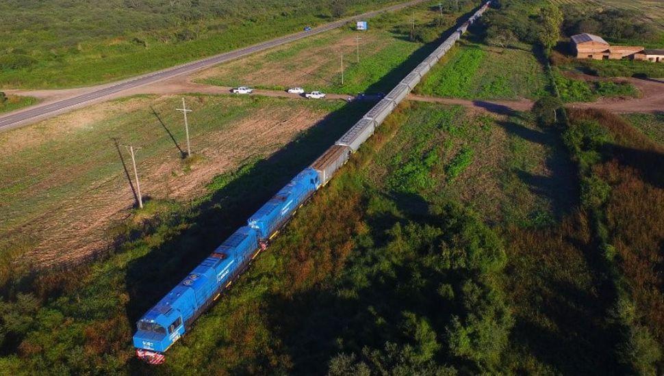 Belgrano Cargas: por primera vez en el país, se transportaron 100 vagones entre Salta y Santa Fe