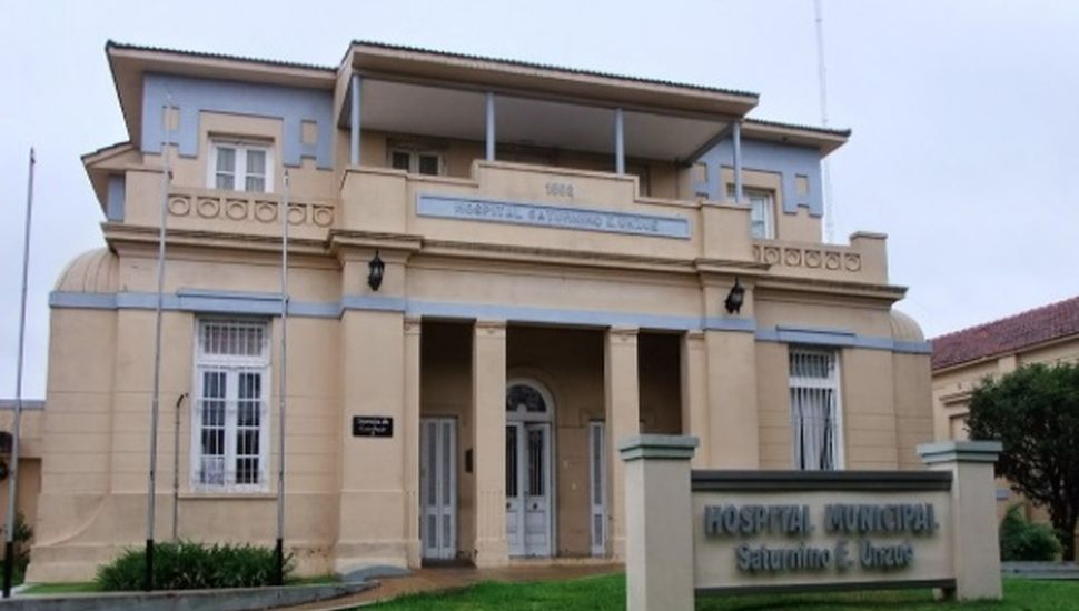 Hospital Saturnino Unzué de Rojas.