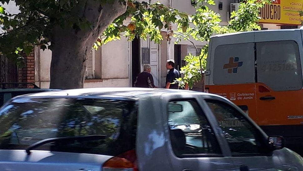 El primero de los tres robos ocurrió en una vivienda de calle Malvinas Argentinas.