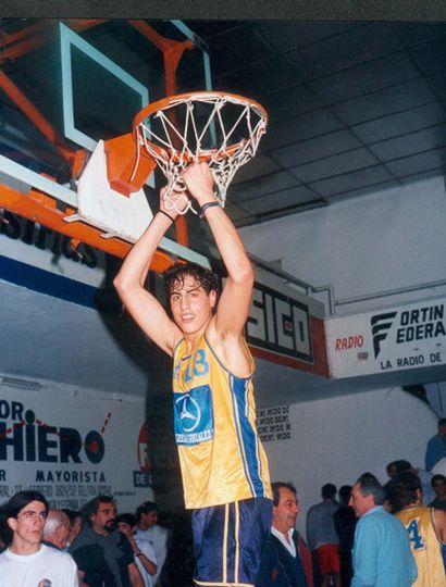 Damián Tintorelli y el último campeonato que ganó con Los Indios. Después se fue de Junín.