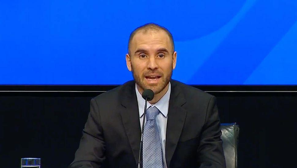 El ministro Guzmán respaldó el pedido de postergación de pago que negocia la Provincia