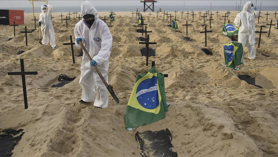 Muertos en Brasil