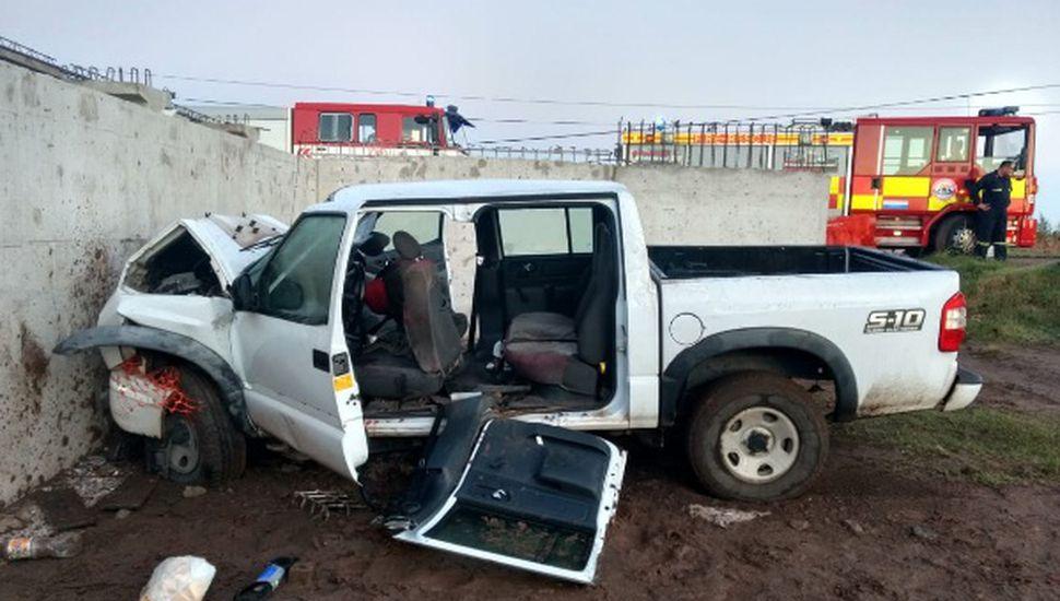 Tres jóvenes heridos por un accidente en Arenales