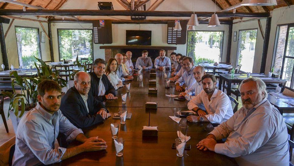 El encuentro se llevó a cabo ayer en La Plata.