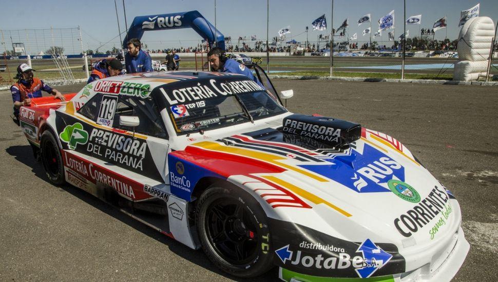 Humberto Krujoski dominó los ensayos del TC Pista con el Chevrolet.