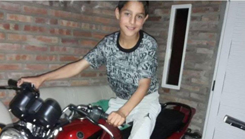 Falleció el menor que había chocado contra un remolque de camión