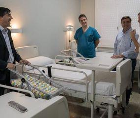 Inauguraron una nueva habitación de maternidad en el hospital de Viamonte