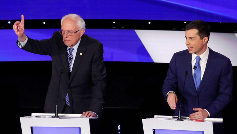 Bernie Sanders y Pete Buttigieg calientan la interna demócrata.