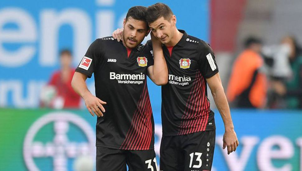 Debut, gol y asistencia de Alario en Leverkusen