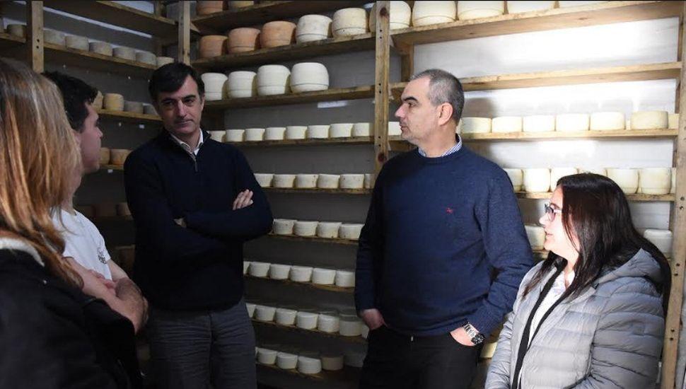 Esteban Bullrich visitó Chacabuco
