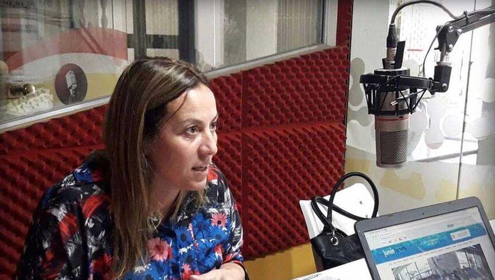 Valeria Arata, diputada provincial por el Frente Renovador.