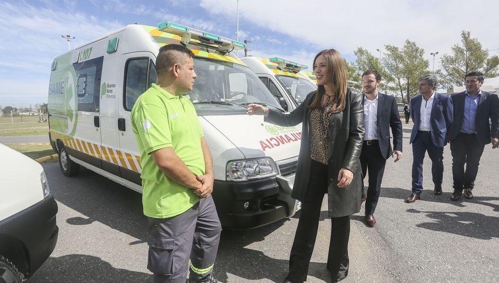 """Vidal: """"Trabajamos para que el SAME llegue a los 135 municipios cuando termine el año"""""""