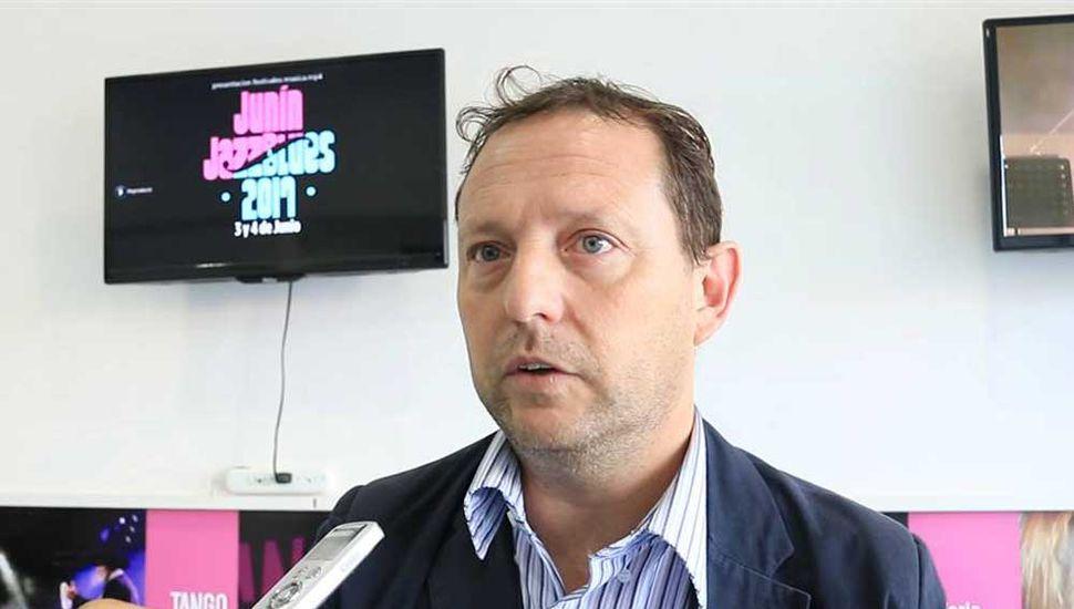 Luis Bortolato, director de Cultura y Turismo.