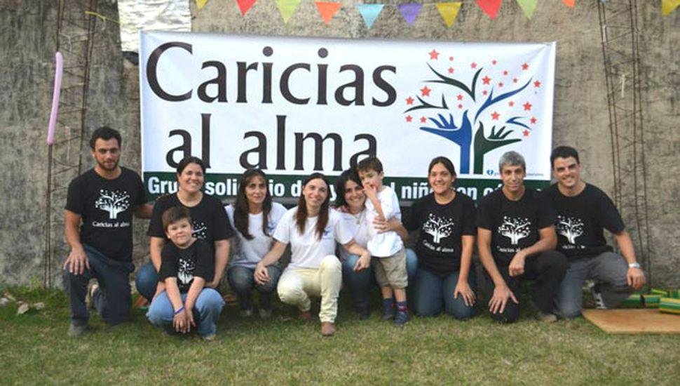 """Premio al grupo solidario """"Caricias al alma"""""""