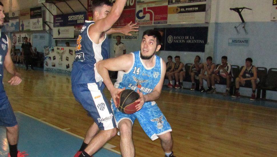 Nicolás Payero ante Ignacio Moral.