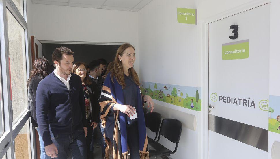 9 de Julio: Vidal visitó hospital y dialogó con vecinos