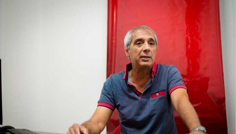 Carlos Mansur, presidente de la UCR de Junín.