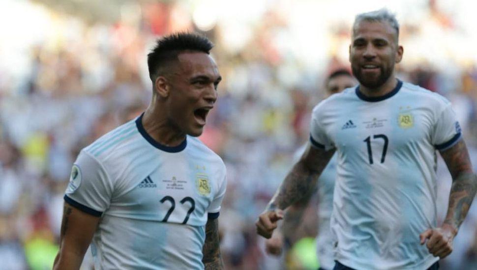Argentina le ganó a Venezuela y enfrentará a Brasil en semifinal