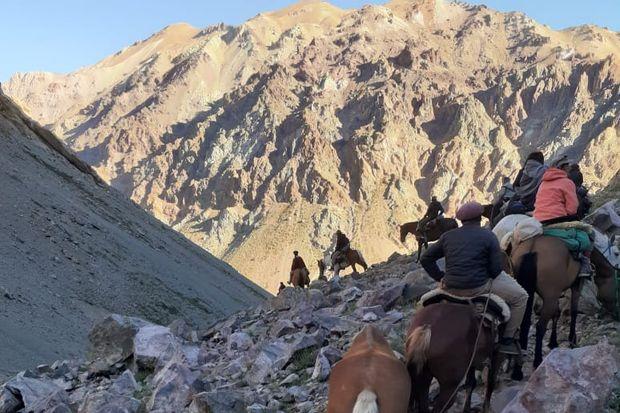 Arenalense cruzó los Andes