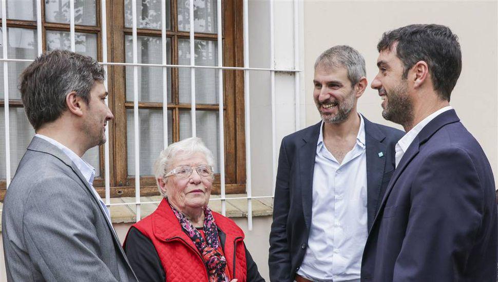 El director ejecutivo de Anses, Emilio Basavilbaso visitó Junín