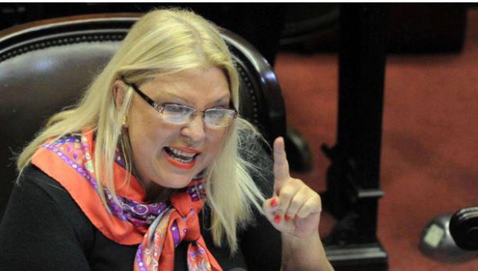 """Carrió criticó la resolución de Bullrich: """"Se le va la mano"""""""