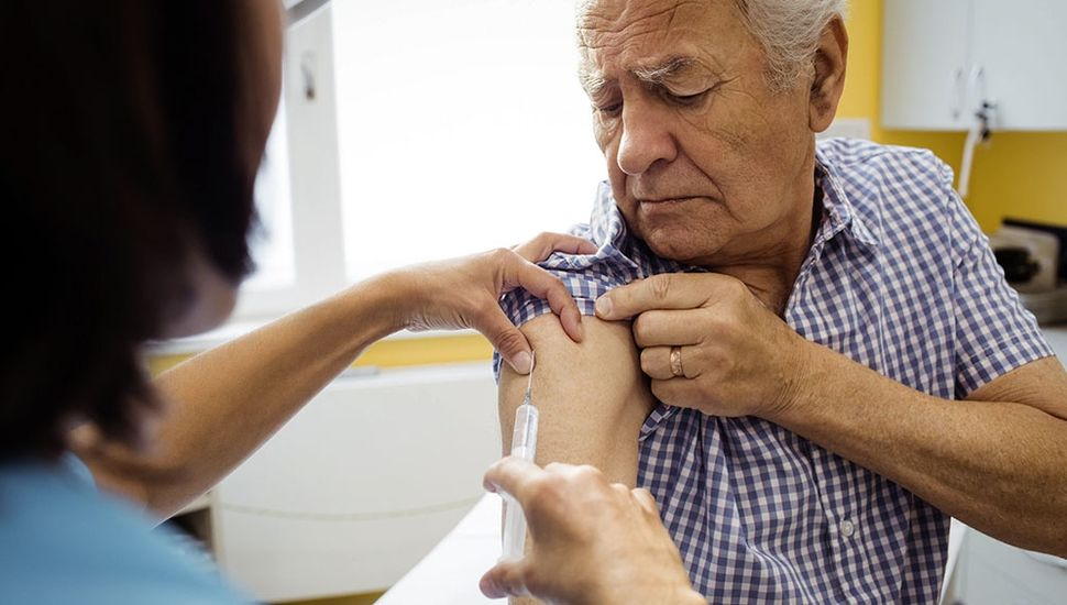En la Región Sanitaria III, IOMA aplicó 1100 dosis de la vacuna antigripal