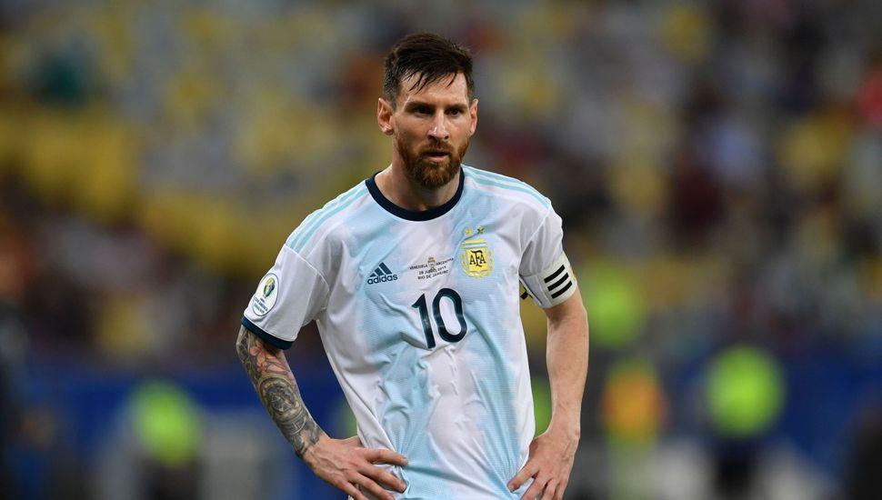 La sanción a Messi terminó siendo leve